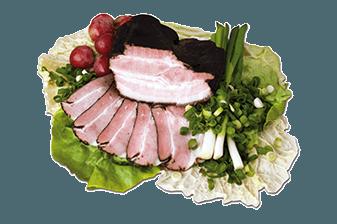Údené mäsá a slaniny